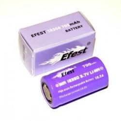 Accu EFEST 18350 700 mAh violet