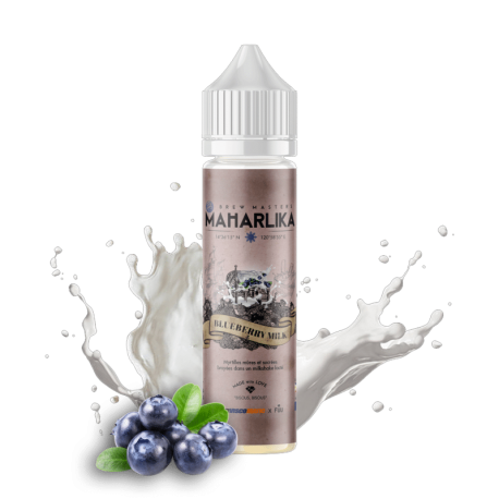 Blueberry Milk Maharlika 50 ml 0mg