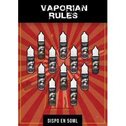 Poster A3 Vaporian Rules