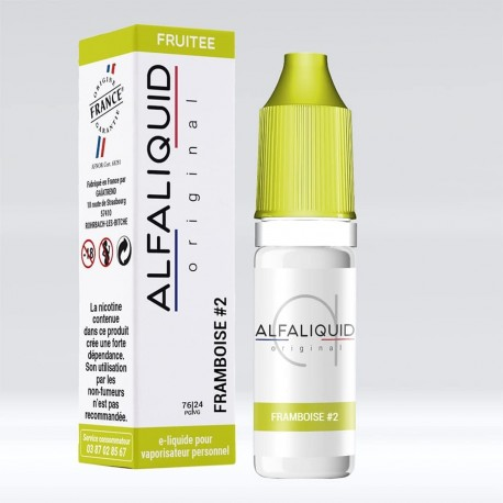 Framboise 2 Alfaliquid - 10 ml