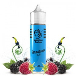 Duo Sensation Bleu LE VAPOTEUR BRETON 50ml 0mg