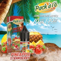 Concentré Pinapple Strawberry Pack A L'O 10ml