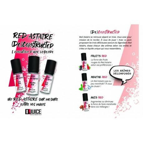 Concentré Red Astaire (de) Concentred T-Juice 3x10ml