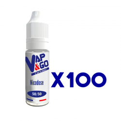 Nicodose VAP&GO X100 50/50 10ml 20mg