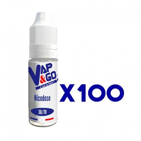 Nicodose VAP&GO X100 30/70 10ml 20mg
