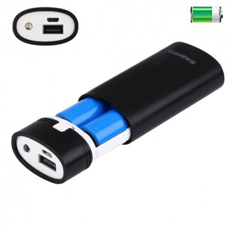 Rangement Accu Power bank 2 X 18650
