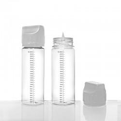 Flacon plastique 250ml gradué