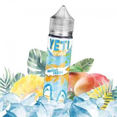 E-liquide Mango Fresh - Yeti fruité 50ml