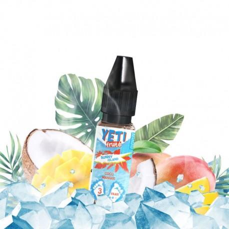 E-liquide Sunny Island - Yeti Fruité 10ml
