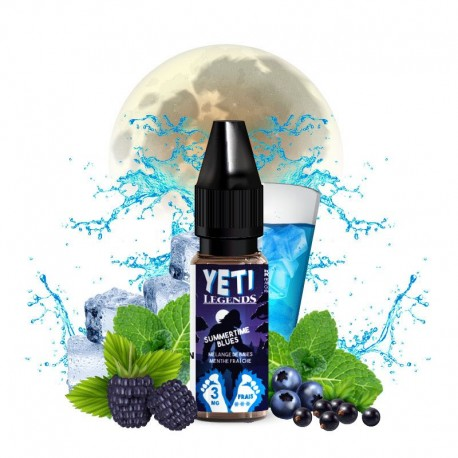 E-liquide Summertime Blues - Yeti Legends 10ml