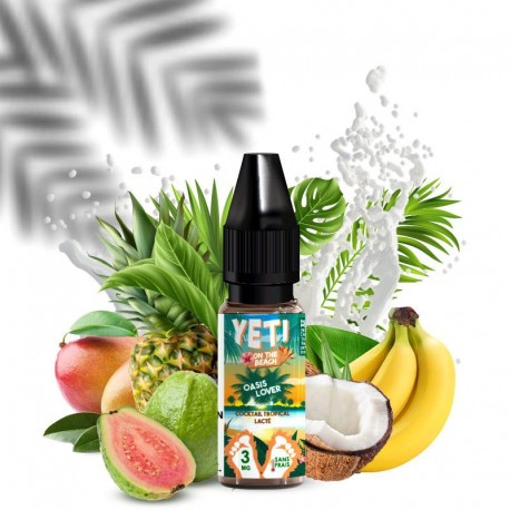 E-liquide Oasis Lover - Yeti on the Beach 10ml