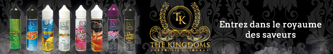 The KingDom E-liquide Malaysien